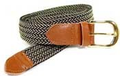 GOLD BUCKLE STRETCH BELTS