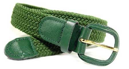 LA-400HG GREEN STRETCH BELT, 2XL/XXL (46/48)