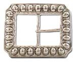 "BU-58 2""3/4 X 3""1/2 FANCY PIN BELT BUCKLE"