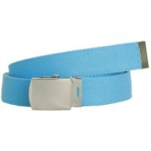 WN-40 AQUA 1.25 INCH MILITARY STYLE BELT WITH BUCKLE