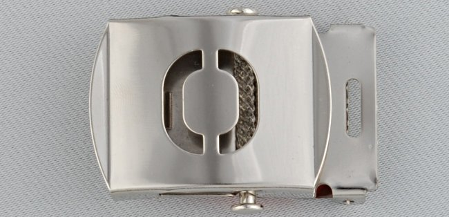 WN-141 INITIAL O MILITARY STYLE BELT BUCKLE
