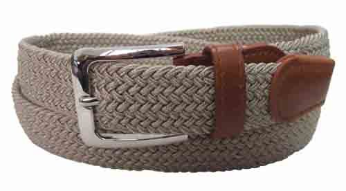 LA-4001-C BEIGE WHOLESALE STRETCH LEATHER BELT, XXXL